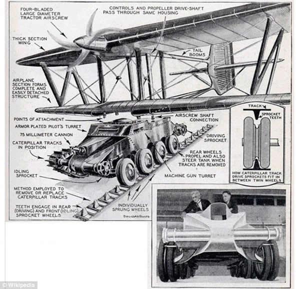 美苏关于会飞的坦克报道并不一致