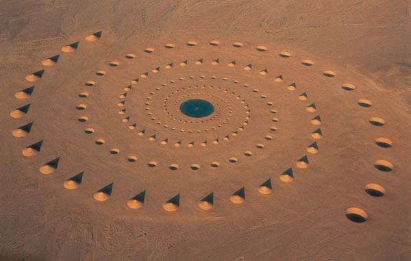 埃及沙漠神秘环境艺术品