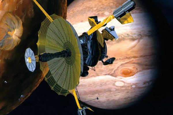 伽利略木星探测器为我们呈现了木星及其卫星系统的真实一面,1995年进入木星轨道,2003年受控坠毁在木星上