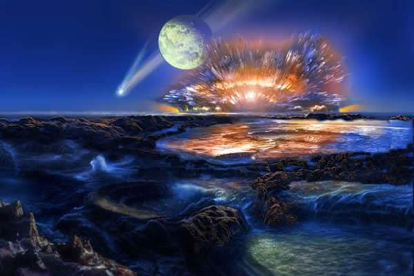 地球之水可能来源于地球本身