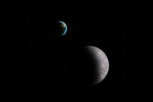 小行星2014 DX110将在地球与月球之间掠过