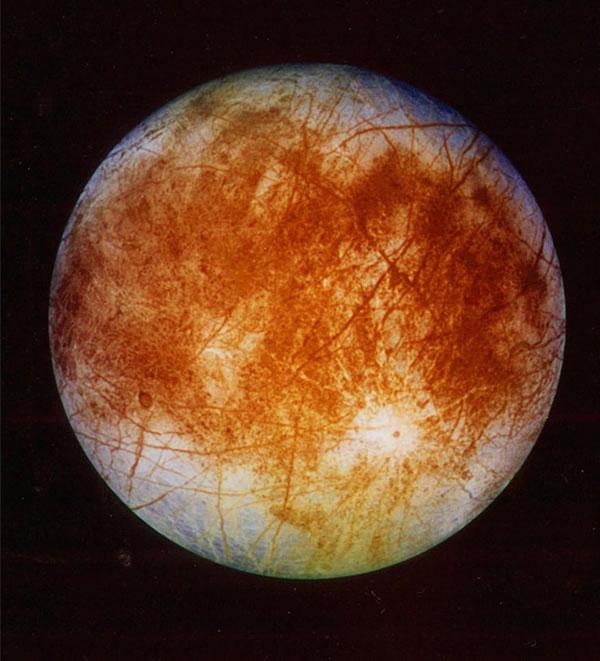 资料图:木星最大的卫星——木卫二