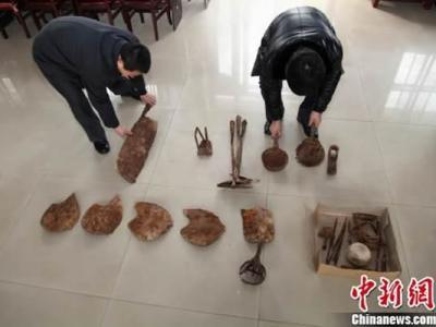 河北隆化县发现50余件金元时期窖藏铁器