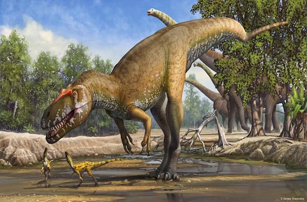 格氏蛮龙Torvosaurus gurneyi复原图