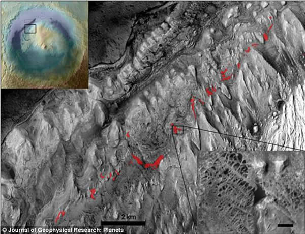 好奇号火星车目前所处的位置可能是火星一