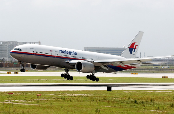 File photo of a Malaysian Airlines Boeing 777, similar to the jet that is missin