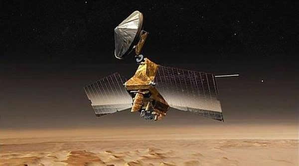 """""""火星勘测轨道飞行器""""因电脑问题自动进入保护性安全模式"""