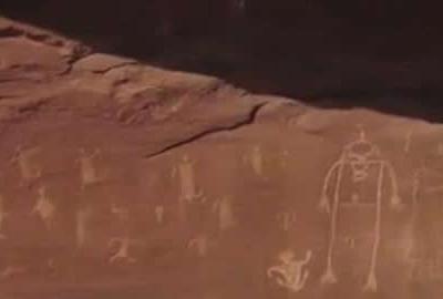 无人机在美国犹他州南部发现20处古代岩画
