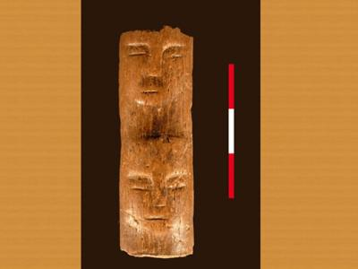 Ancient 'Ritual Wand' Etched with Human Faces Found in Syria