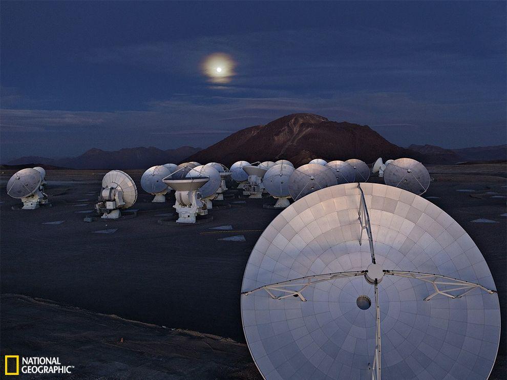 智利沙漠阿塔卡马大型毫米波/亚毫米波阵列(ALMA)