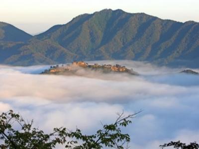 """日本武田城堡:现实中的""""天空之城"""""""