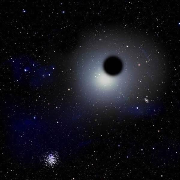 黑洞是奇怪的区域,它的引力是如此强大以至于可以弯曲光线,扭曲时空。