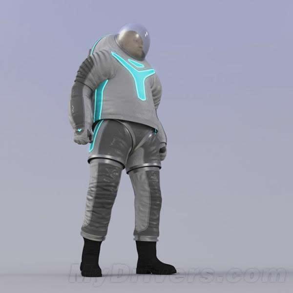 Z-2宇航服的设计