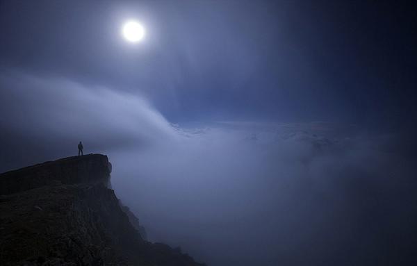 意大利摄影师捕捉欧洲山脉美景
