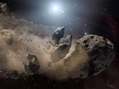 Baked Asteroids Suffer Fatigue and Fragment