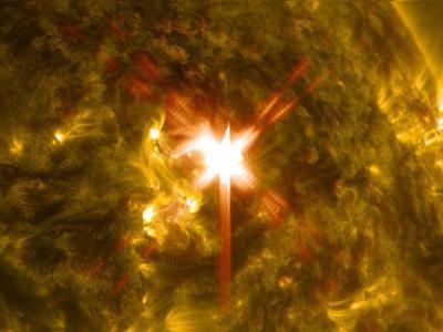 Powerful Solar Flare Causes Radio Blackout