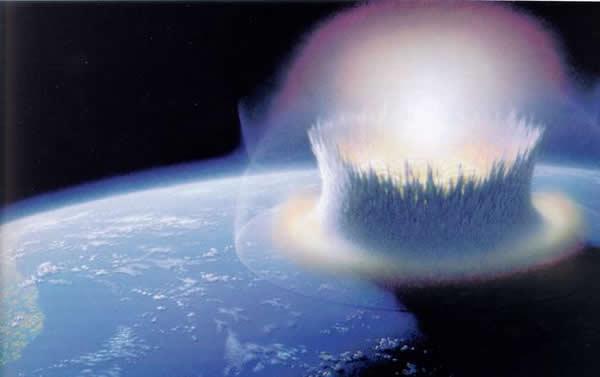30多亿年前小行星曾经撞击地球导致海洋沸腾