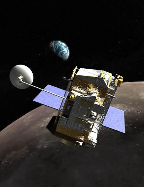 LRO正在轨道上运行