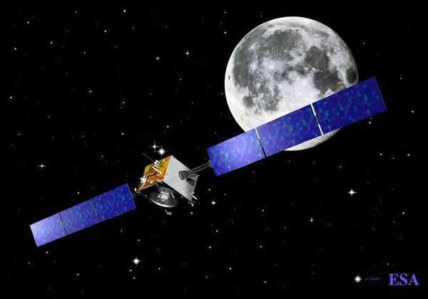 欧洲月球Smart-1探测器