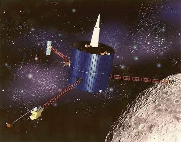 """月球""""勘探者号""""探测器"""