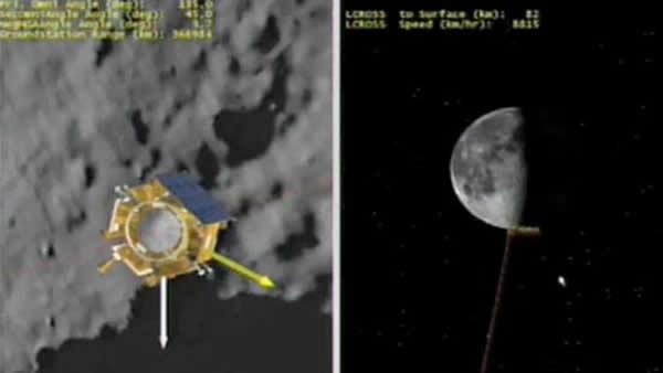 月球陨坑观测与遥感卫星(LCROSS)和月球勘测轨道飞行器(LRO)
