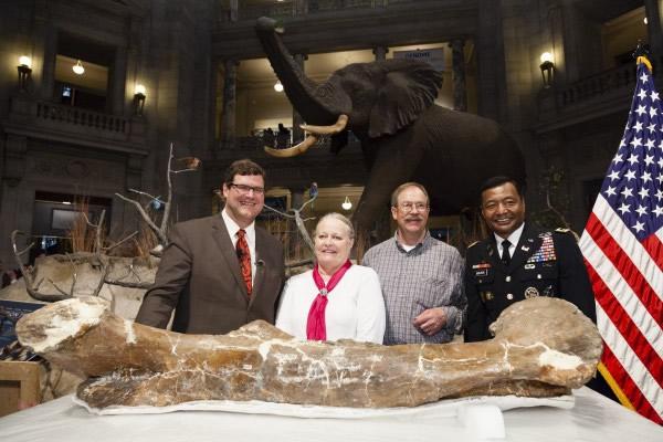 """""""国民雷克斯霸王龙""""到达美国华盛顿史密森学会自然历史国家博物馆"""