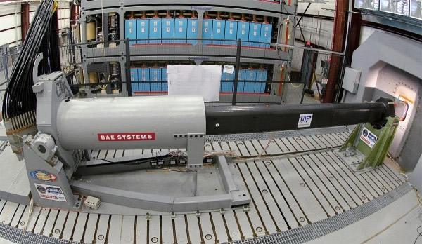 电磁轨炮速度是音速7倍