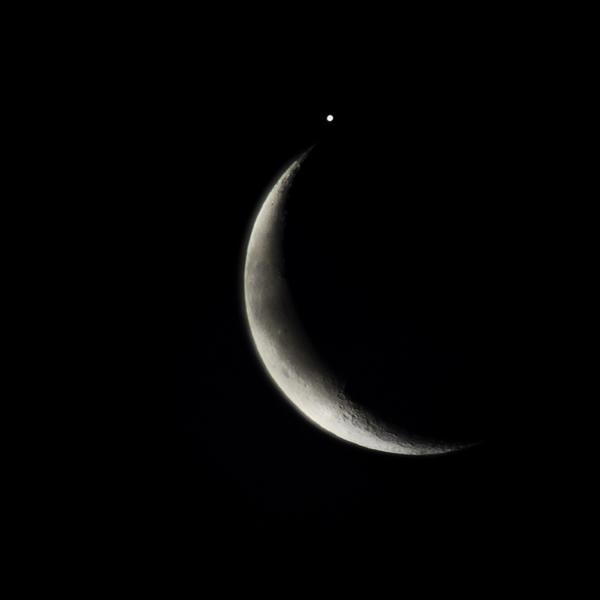 资料图:月球和木星
