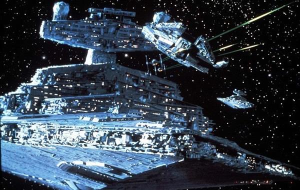 物理学家指出《星战》电影中的防御网与地球的电离层相似