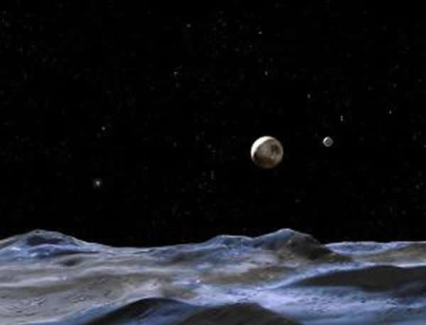 科学家表示遥远的冥王星上可能下着尘埃雨