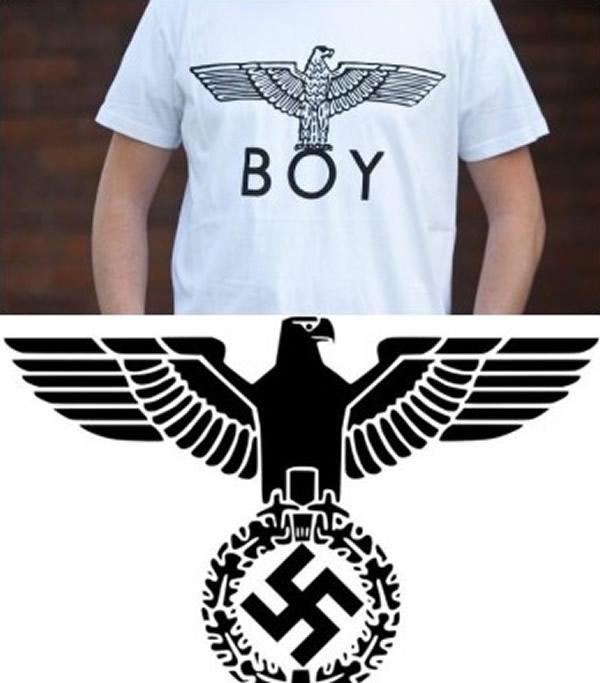 London的标志被指酷似二战时德国纳粹的 党之鹰 徽号