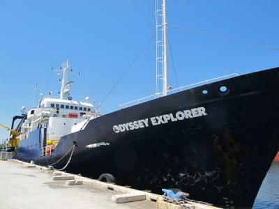 美国海洋打捞公司打捞一艘1857年沉没汽船的黄金