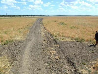 澳洲北领地经常有人声称发现UFO 管理员巡视发现麦田圈