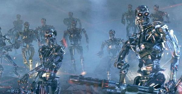 电影《终结者》中的机器人兵团