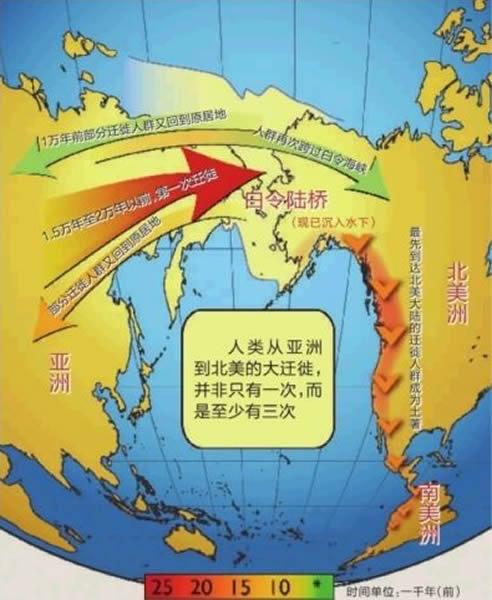 新研究表明最早美洲人起源于亚洲东北部