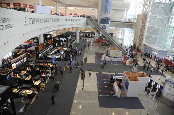 湖南国际会展中心博览会现场