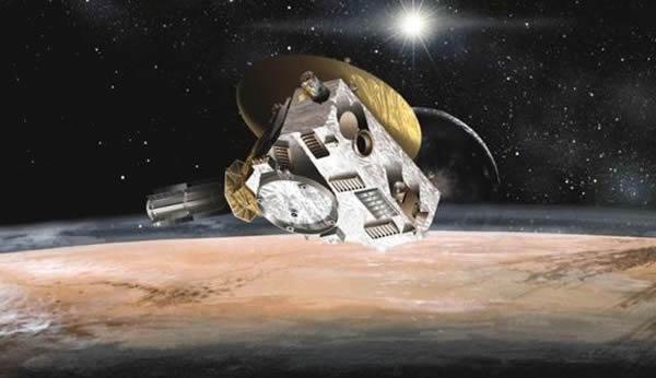 美国宇航局的新视野号探测器将于2015年7月从冥王星附近飞过