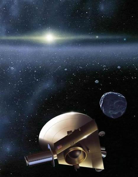 柯伊伯带是一个位于海王星轨道之外的广阔带状区域,其中分布有很多冰冻小天体,它们可能保留着太阳系早期的珍贵信息。