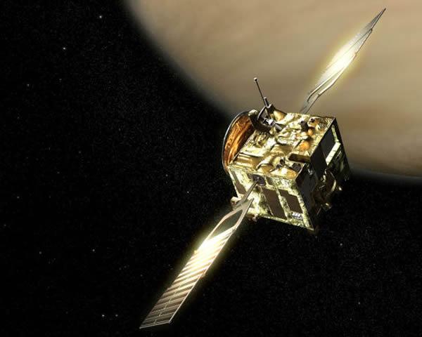 欧洲金星快车探测器将按计划坠入金星浓密的大气层焚毁