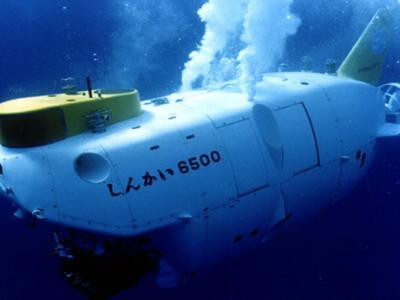 日本政府海洋研究开发机构正开发可深潜12000米的载人潜水艇