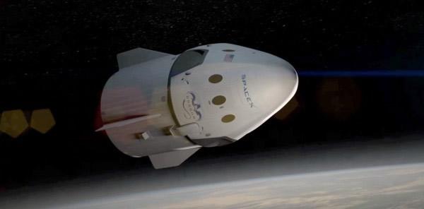 """美国SpaceX新一代""""龙""""太空舱可载7人往国际空间站"""