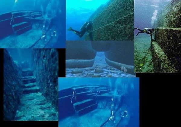日本与那国海底遗迹