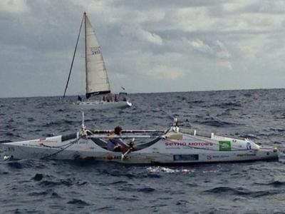 俄罗斯著名探险家162日横渡太平洋打破世界纪录
