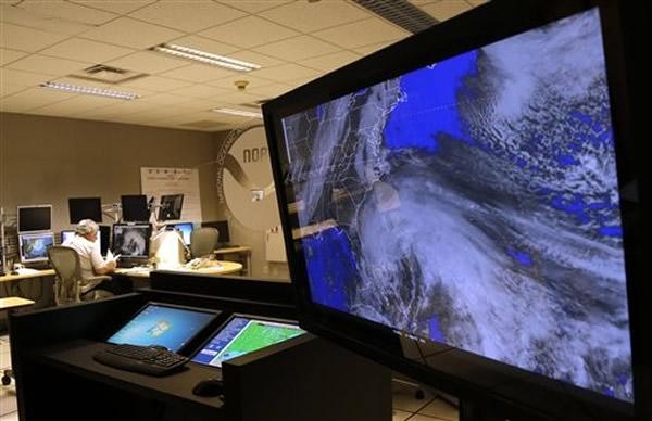 2012年侵袭美东的珊迪(Sandy)飓风