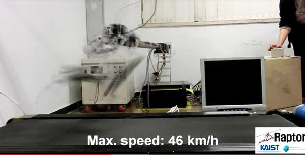 韩国以迅猛龙为原型设计研制出一款新型机器人