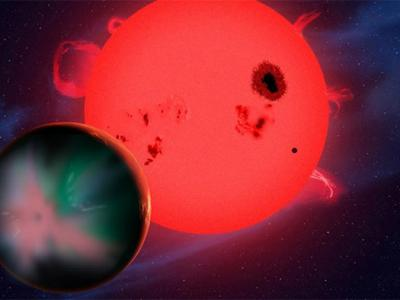 Red Dwarfs Could Sterilize Alien Worlds of Life