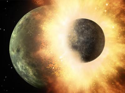 Bits of Earth-Shattering Impactor Found on the Moon