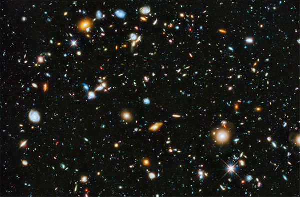 Hubble Adds Ultraviolet to Epic Ultra-Deep Cosmic View