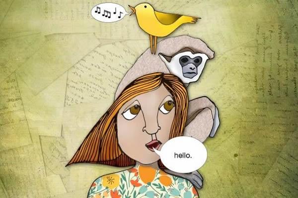 人类语言起源进化研究新视角 或起源自鸟类、猿猴语言