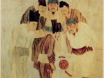 研究认为中国山东淄博的临淄是古代足球运动的发源地